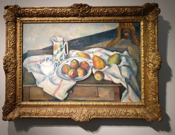 Cezanne- Peaches & Pears