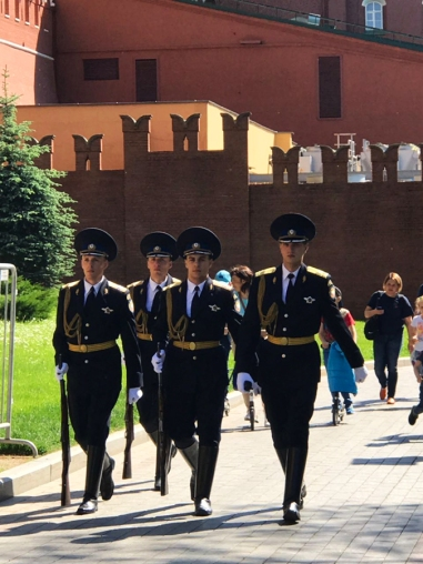 Change of guards at the Kremlin