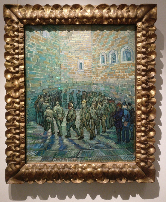 Van Gogh- Prisoners Exercising
